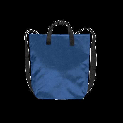 chabrowy plecak minimal z kodury z czarnymi pasami