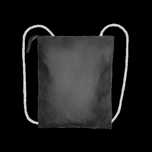 czarny plecak biznes z washable paper