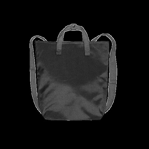 czarny plecak minimal z kodury