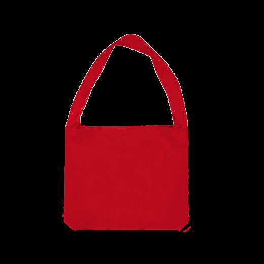 czerwona torba z uchem