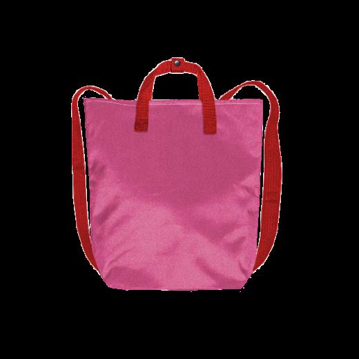 fuksjowy plecak minimal z kodury