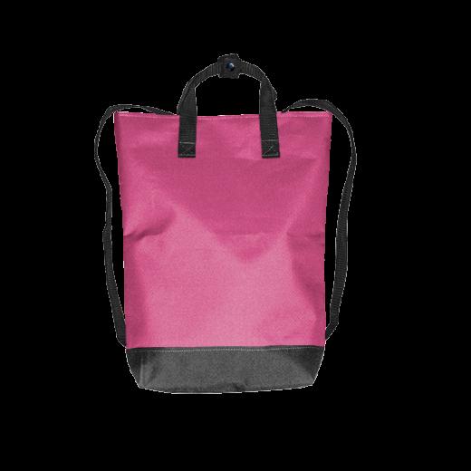 fuksjowy plecak urban z kodury