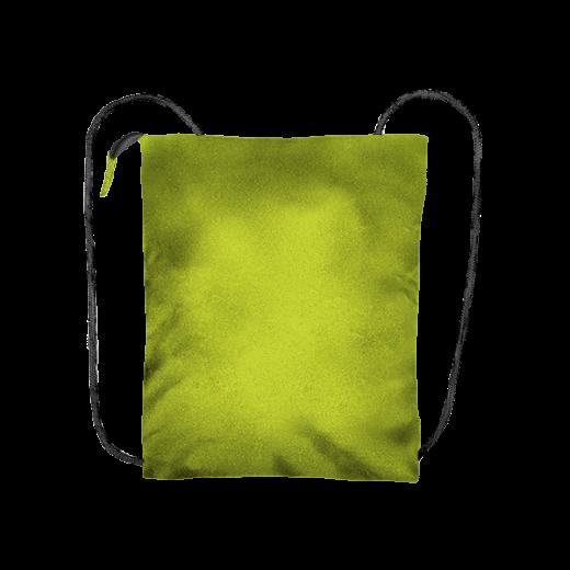 kanarkowy plecak biznes z kodury na zamek