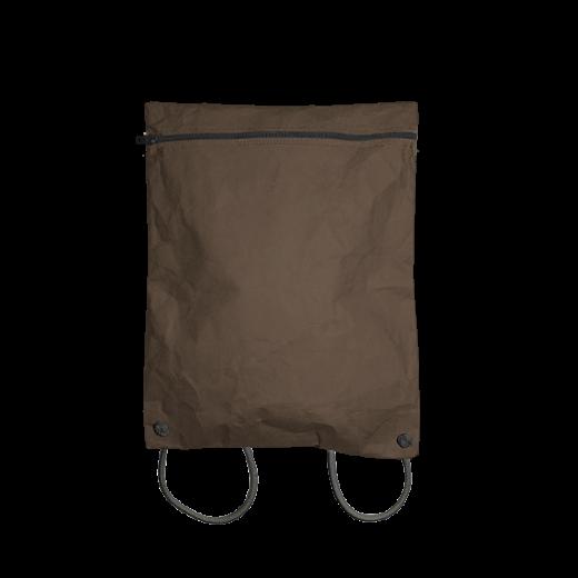 plecak koperta z brązowej washpapy