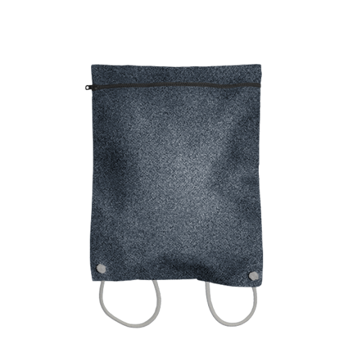 plecak koperta z filcu grafitowego