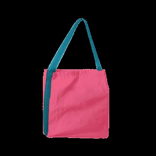 różowa wodoodporna torba z taśmą