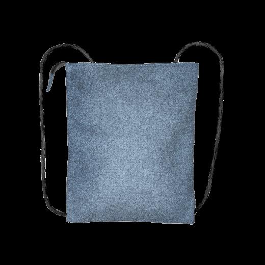 szary filcowy plecak biznes
