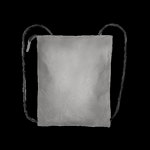 szary plecak biznes z washable paper