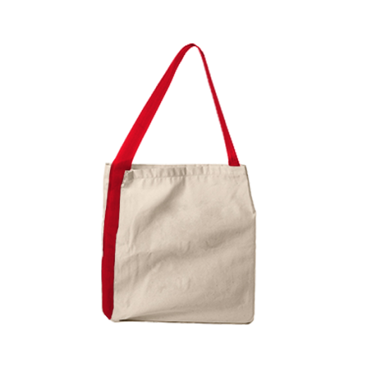 torba z taśmą czerwoną