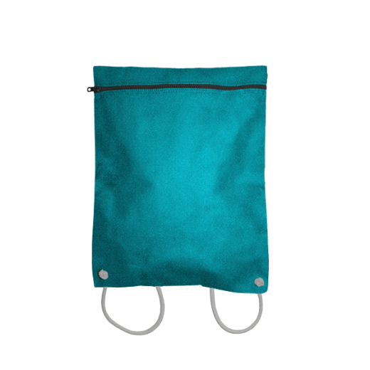 turkusowy plecak koperta
