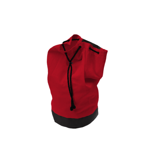 worek marynarski czerwony