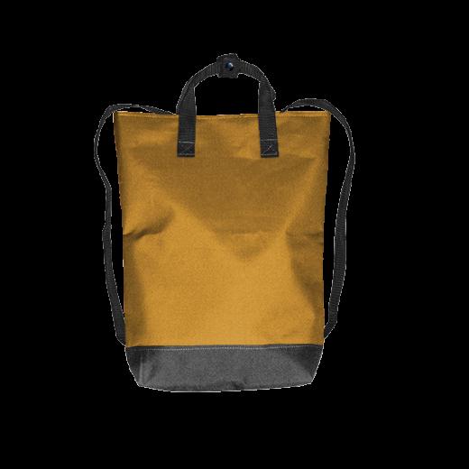 złoty plecak urban z kodury na zamek
